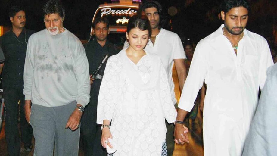When Aishwarya Rai walked barefoot from Juhu to Siddhivinayak temple with Abhishek and Amitabh Bachchan