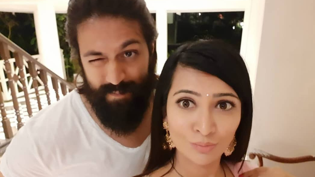 Yash and Radhika Pandit's FUN MOMENTS