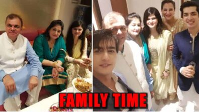 Yeh Rishta Kya Kehlata Hai actor Mohsin Khan's UNSEEN pictures with his family 1