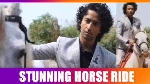 Yeh Rishtey Hain Pyaar Ke fame Shaheer Sheikh riding a horse is mesmerizing
