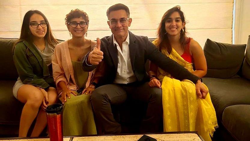 AWW: Aamir Khan suits up for niece Zayn Khan's acting debut in Mrs Serial Killer