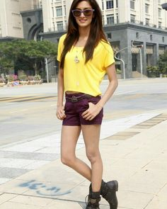 Erica Fernandes, Ashi Singh, Surbhi Chandna: 9 Outfit Ideas With Short Shorts! 2