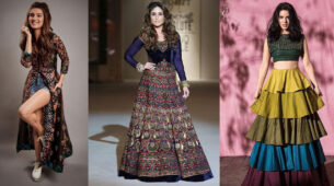 Ethnic Inspiration: Tara Sutaria, Kareena Kapoor, And Sunny Leone's Multi-Coloured Kurta And Suit Will Give You A Stylish Look! 6