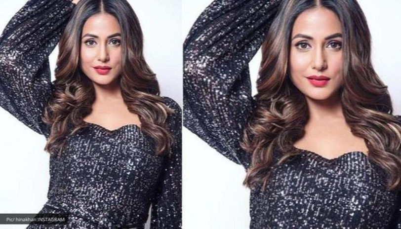 Every time Hina Khan Makes Perfect Style Statement In Dark Shades 1