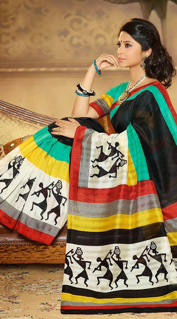 Fab Or Drab? Jennifer Winget, Surbhi Jyoti, Nia Sharma Looking Stunning In Printed Saree Outfit
