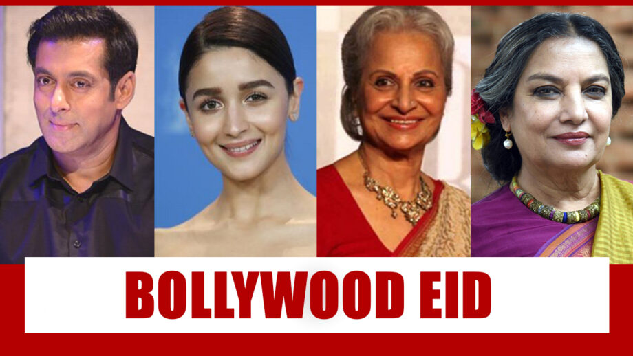 From Salman Khan to Alia Bhatt: Eid In Bollywood During Normal Times