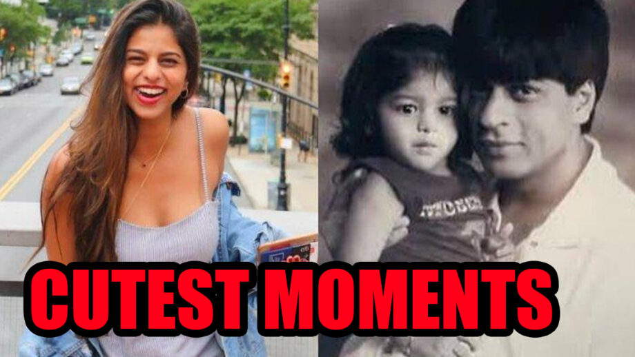 IN PHOTOS: TOP 5 most adorable moments of 'Birthday Girl' Suhana Khan with 'papa' Shah Rukh Khan 5