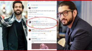 Ishqbaaaz co-stars Kunal Jaisingh and Nakuul Mehta enter into a Twitter 'debate' over Modinomics