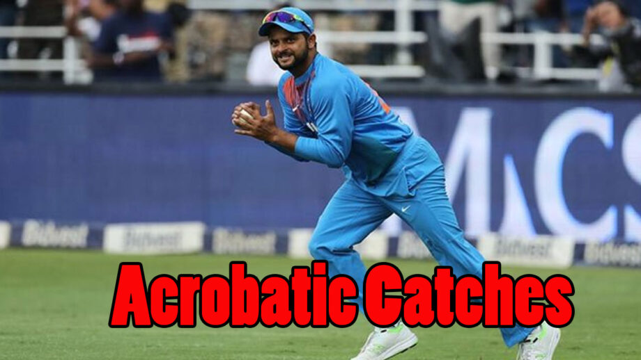 It's wow: Suresh Raina's magical acrobatic catches