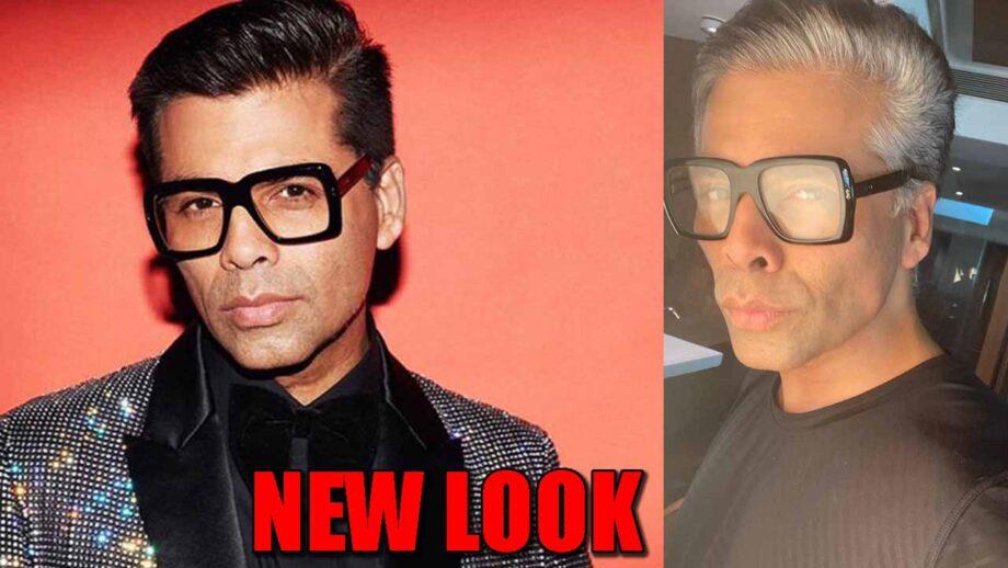 Karan Johar flaunts his NEW look! Check now