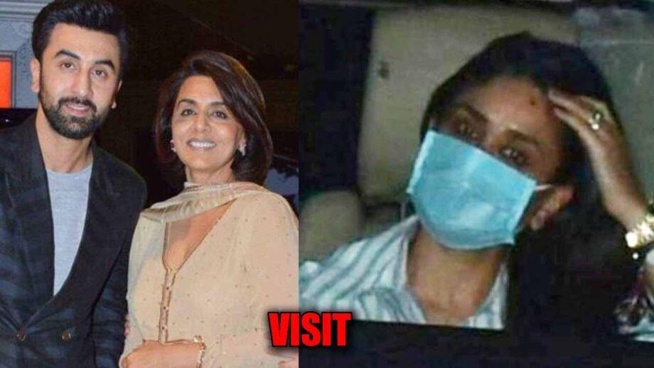 Kareena Kapoor Khan visits Ranbir and Neetu Kapoor, see PICS 1