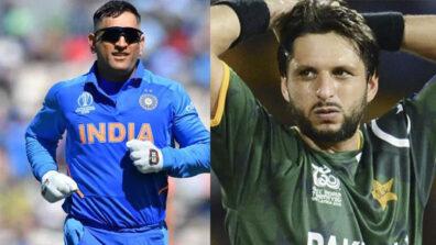 MS Dhoni vs Shahid Afridi: The Best Middle Order Batsman