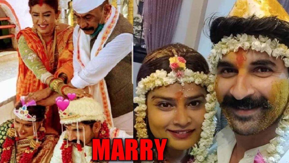 Mumbai don Arun Gawli's daughter Yogita marries actor Akshay Waghmare