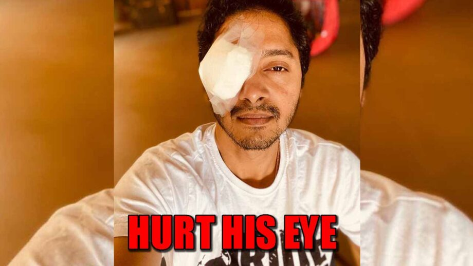 Ouch!! Shreyas Talpade has hurt his eye during lockdown