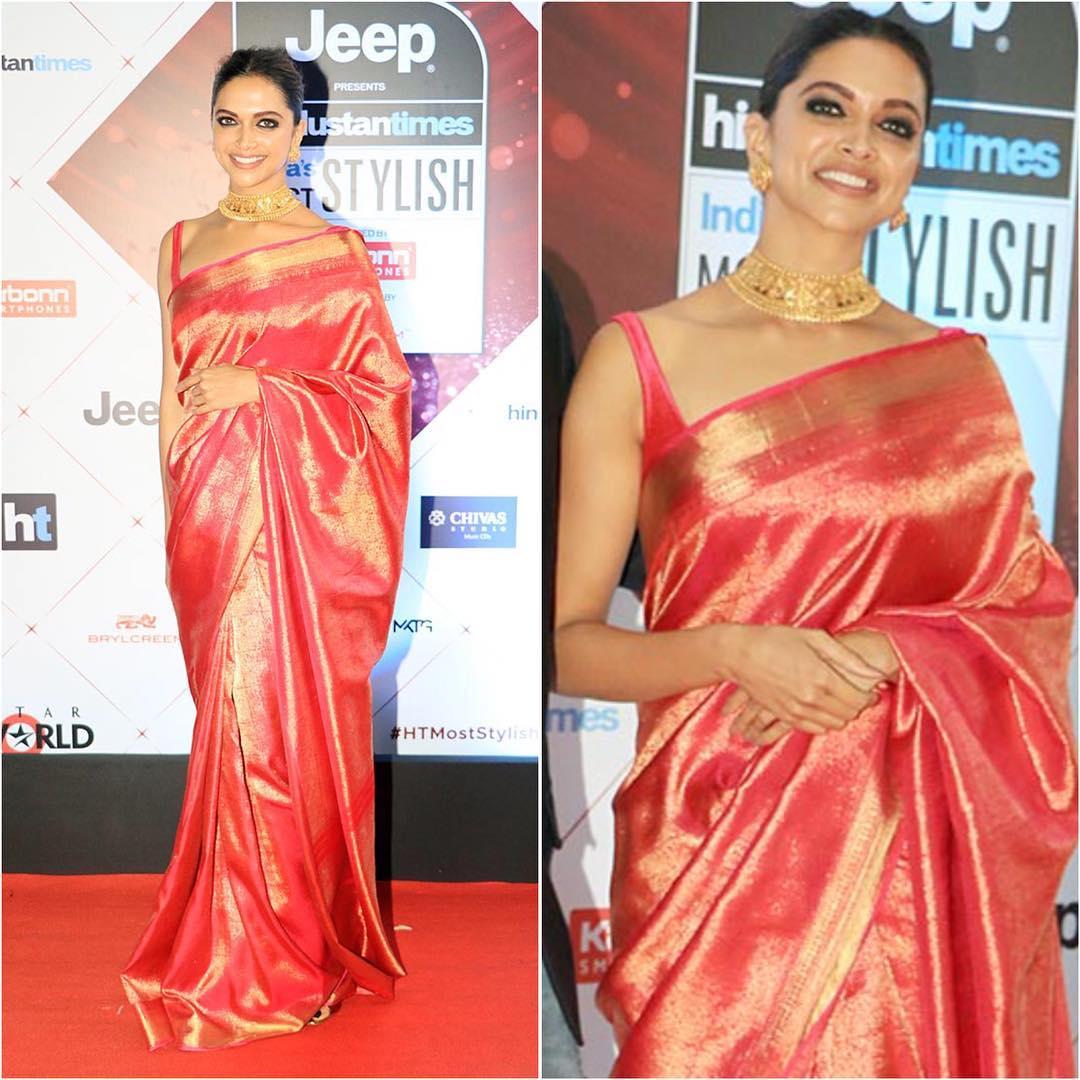 Poll Alert: Alia Bhatt VS Anushka Sharma VS Deepika Padukone: Who Gives Iconic Designer Silk Saree Blouse Inspiration? 1