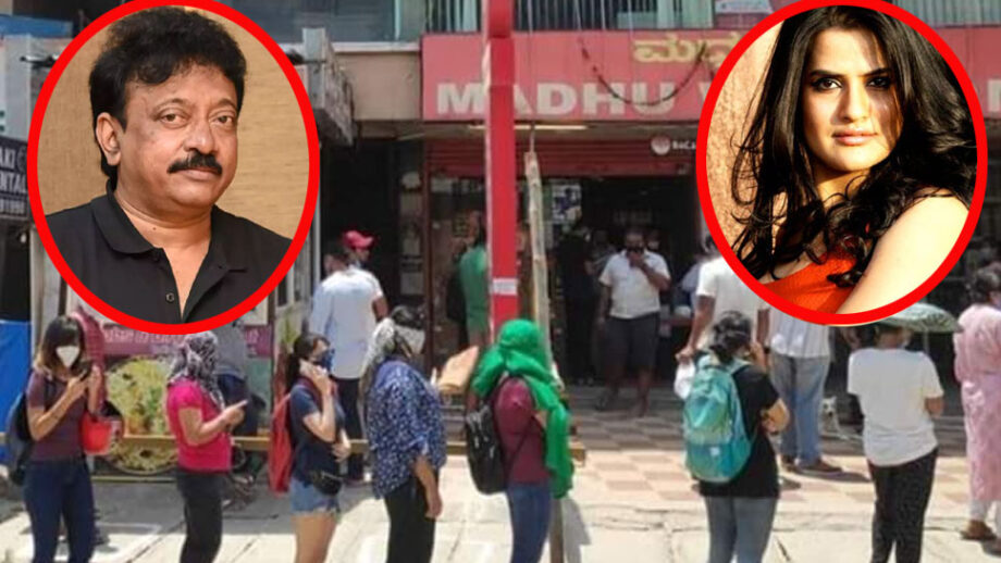 Ram Gopal Varma makes a sexist remark after seeing women buy liquor, gets 'trolled' on social media