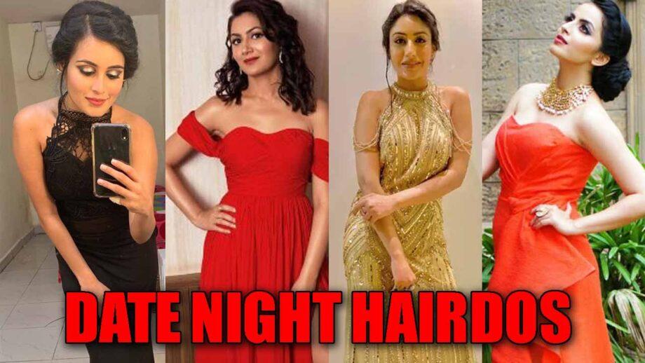 Rhea Sharma, Sriti Jha, Surbhi Chandna, Shrenu Parikh: Beautiful Date Night Hairdos 4