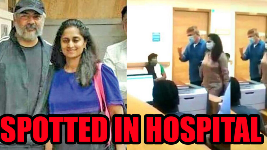 South superstar Ajith spotted in hospital with wife Shalini, fans left worried