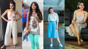 Take inspiration from Trisha Krishnan, Anushka Shetty, Rakul Preet Singh, Samantha Akkineni's summer outfits to beat the heat 12