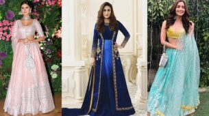 Tara Sutaria, Kareena Kapoor And Alia Bhatt's Ethnic Outfits Are Perfect For The Sister Of The Bride! 7