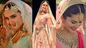 Tara Sutaria, Kareena Kapoor Khan, & Sunny Leone: Which Indian bridal look will you wear on your wedding day? 1