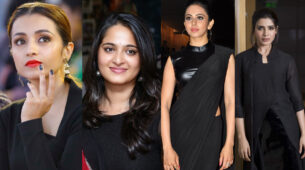 Trisha Krishnan, Anushka Shetty, Rakul Preet Singh, Samantha Akkineni: Who Nailed All The Black Outfits Like A Pro?