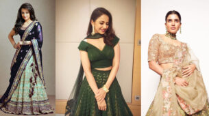 Trisha Krishnan, Rakul Preet Singh, Samantha Akkineni: 4 Stylish Lehenga Dupatta Draping Styles For You To Pick From