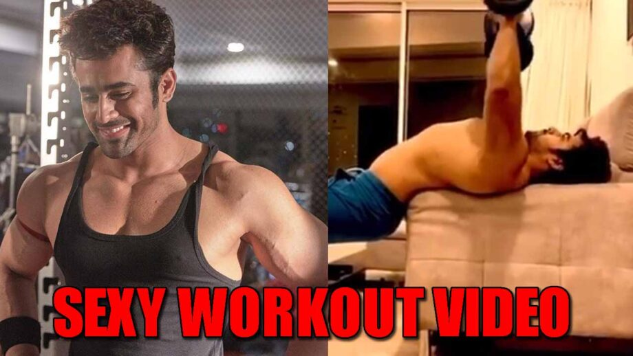 Watch Now: Naagin fame Pearl V Puri's sexy home workout video will make you sweat