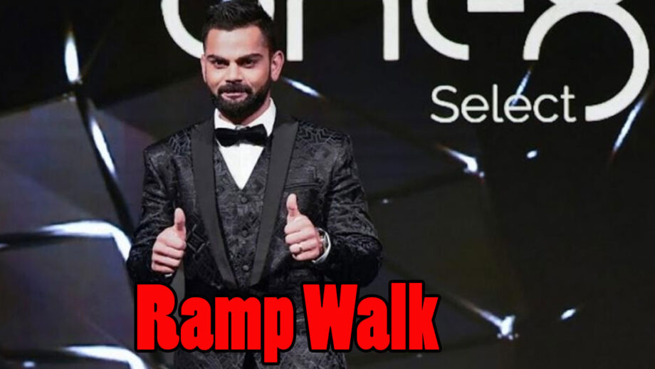 Watch Now: When Virat Kohli slayed the ramp like a professional