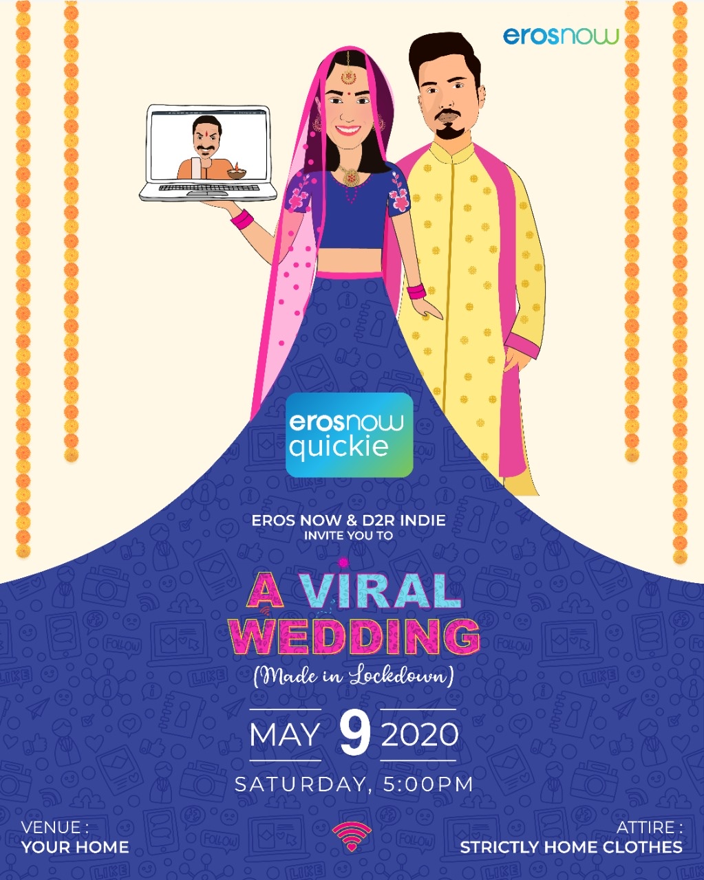 We wanted to present the unique show A Viral Wedding right during the lockdown period: Ridhima Lulla, Chief content Officer, Eros Group 1