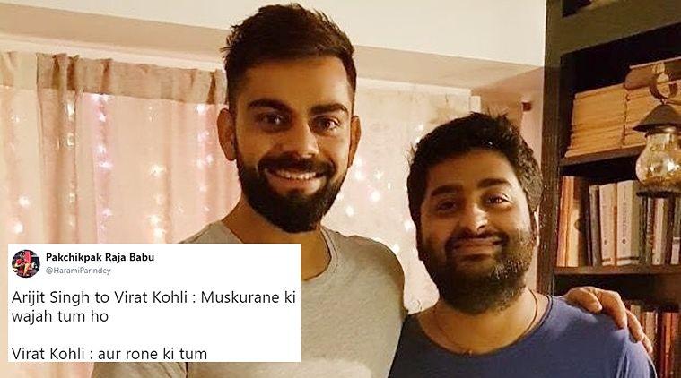 Awesome Memes On Virat Kohli And Arijit Singh
