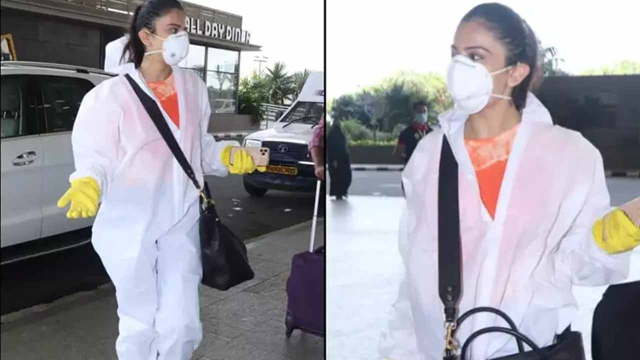 Covid 19: Celebrity airport looks are back, Rakul Preet Singh spotted in PPE suit