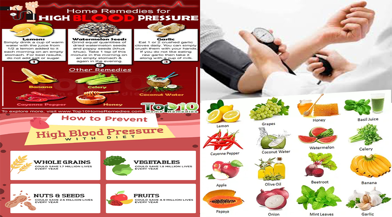 what foods can i eat to lower blood pressure