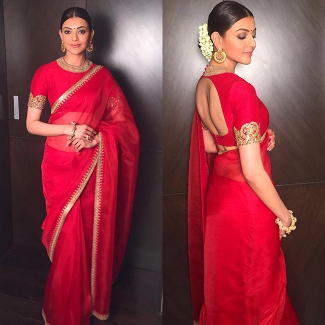 From Samantha Akkineni, Kajal Aggarwal To Radhika Pandit: Tollywood Celebrities Spotted Wearing Sabyasachi Outfits