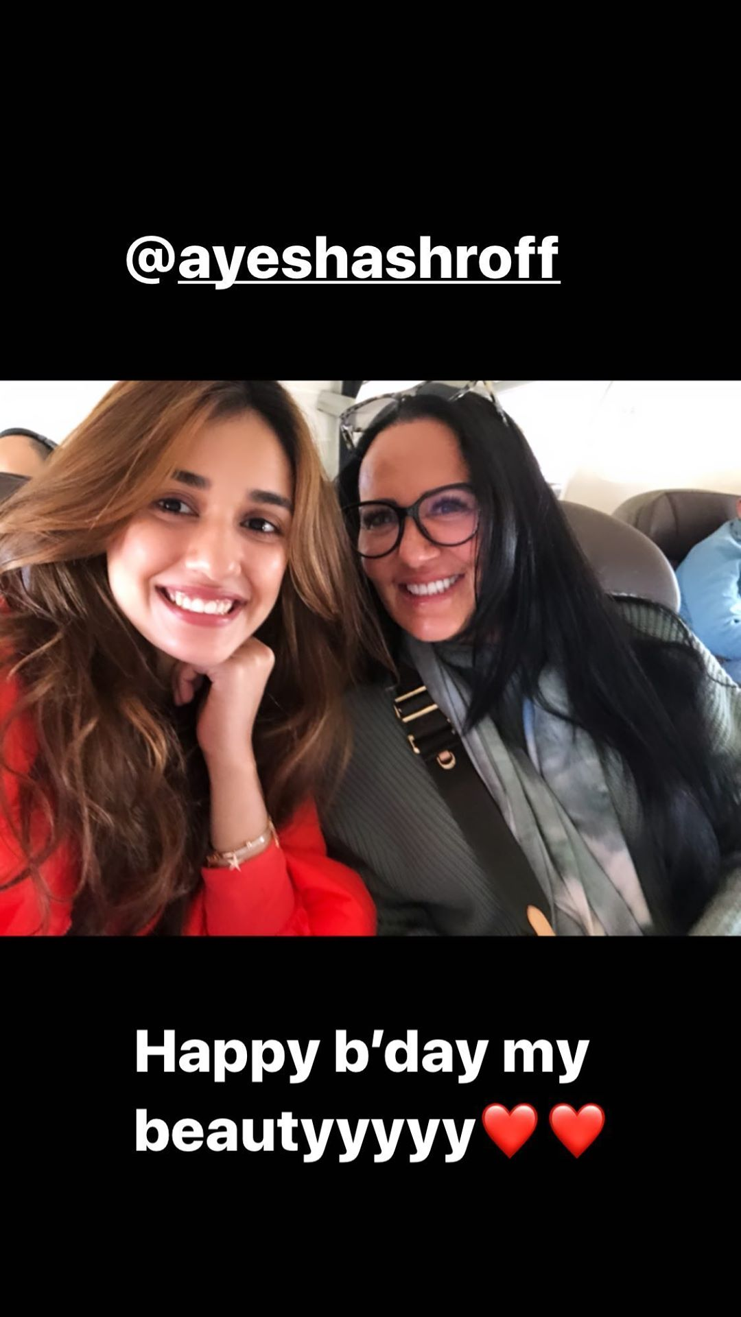 'Happy birthday my beauty', Disha Patani's special wish for Tiger Shroff's mother is heartwarming