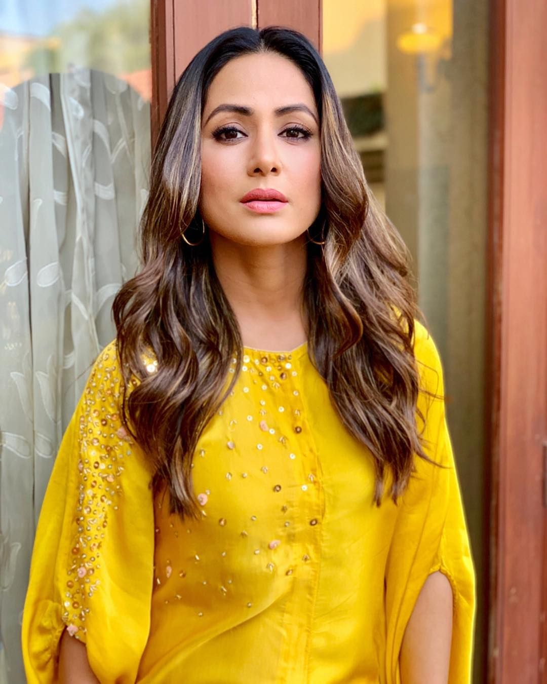 Hina Khan, Erica Fernandes And Shivangi Joshi Look Effortlessly Charming In Yellow Outfits
