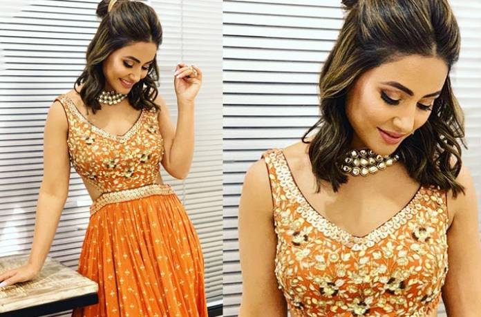 Hina Khan knows how to ace ethnic wear! 3