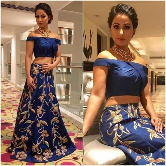 Hina Khan VS Surbhi Jyoti VS Nia Sharma: Who Looked Sexy In Off-Shoulder Outfit? 2
