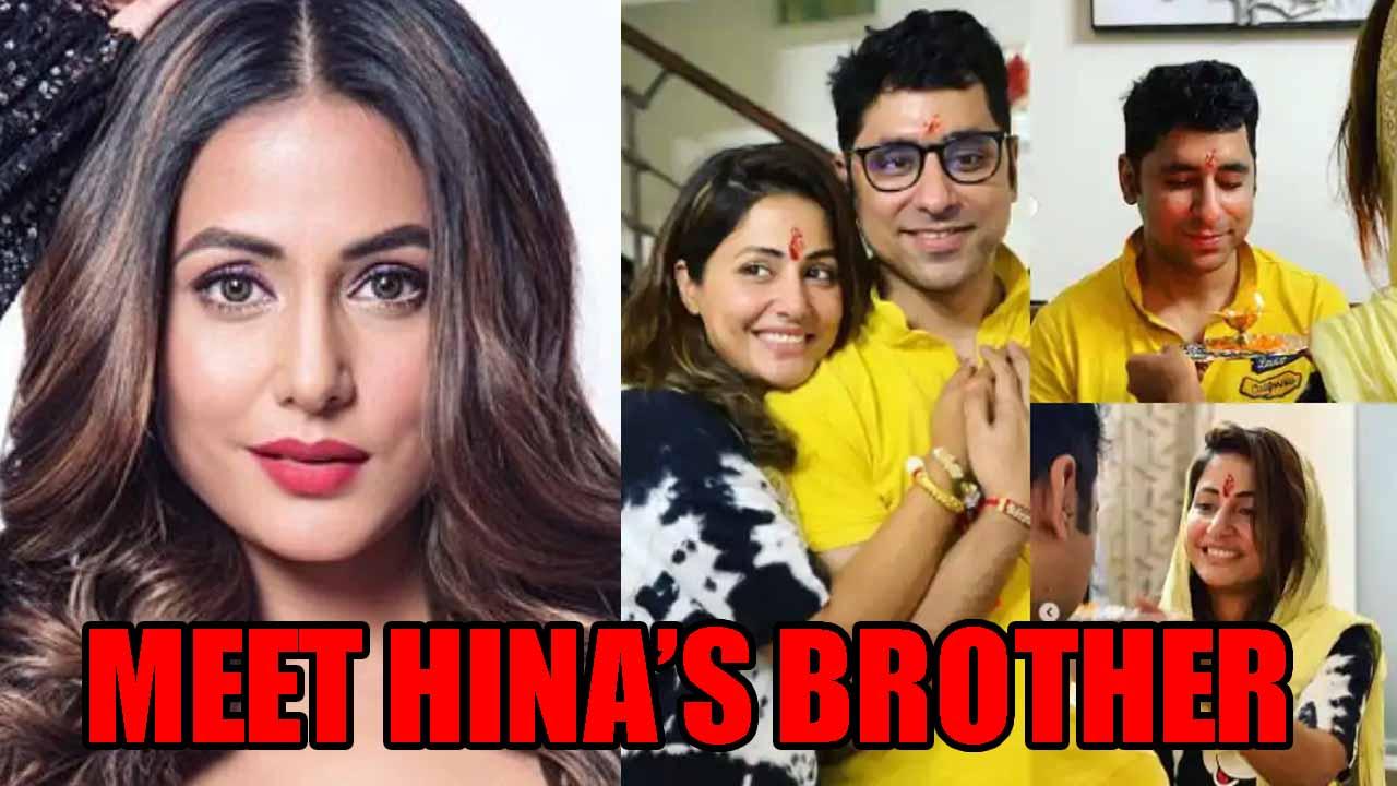 Meet Hina Khan S Younger Brother Aamir Khan Iwmbuzz Khatron ke khiladi 8 that she. younger brother aamir khan