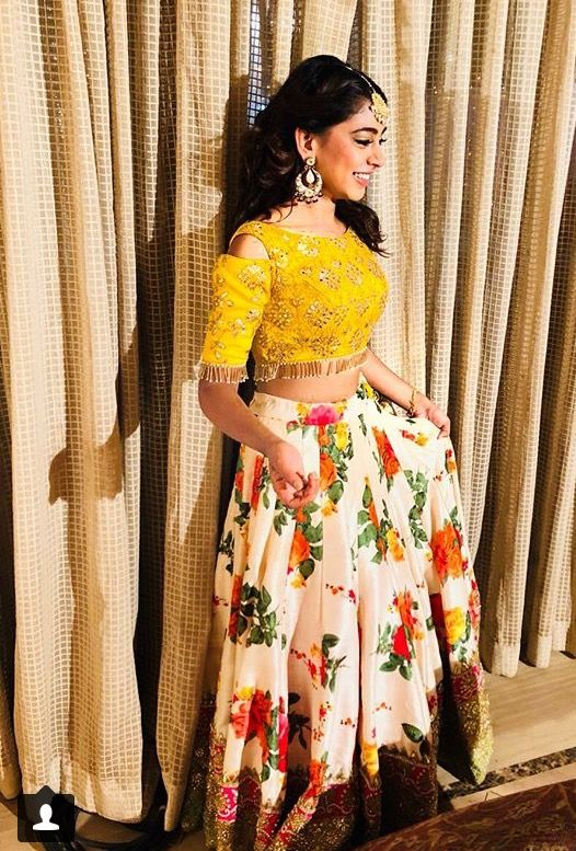 Nia Sharma, Niti Taylor And Surbhi Chandna's Gorgeous Designer Lehengas That You Can't Stop Wearing 3