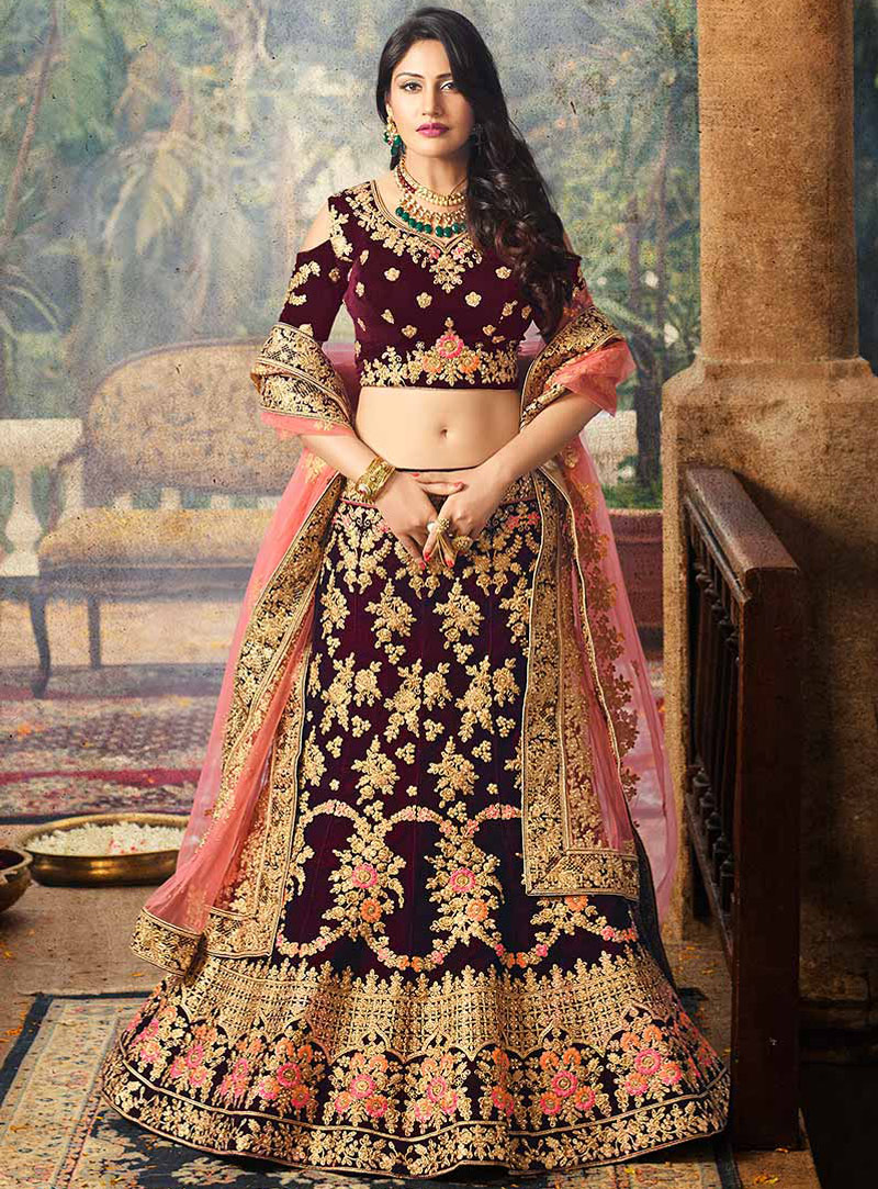Nia Sharma, Niti Taylor And Surbhi Chandna's Gorgeous Designer Lehengas That You Can't Stop Wearing 5