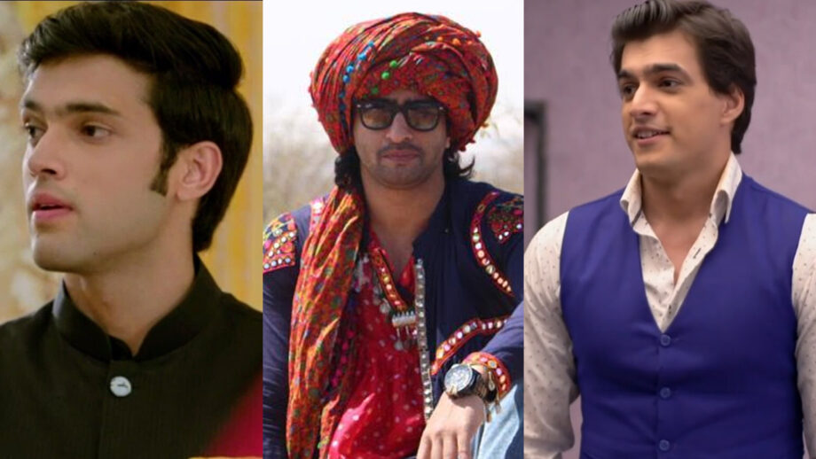 Parth Samthaan VS Shaheer Sheikh VS Mohsin Khan: Which Is Your Favourite On-Screen Iconic Look?