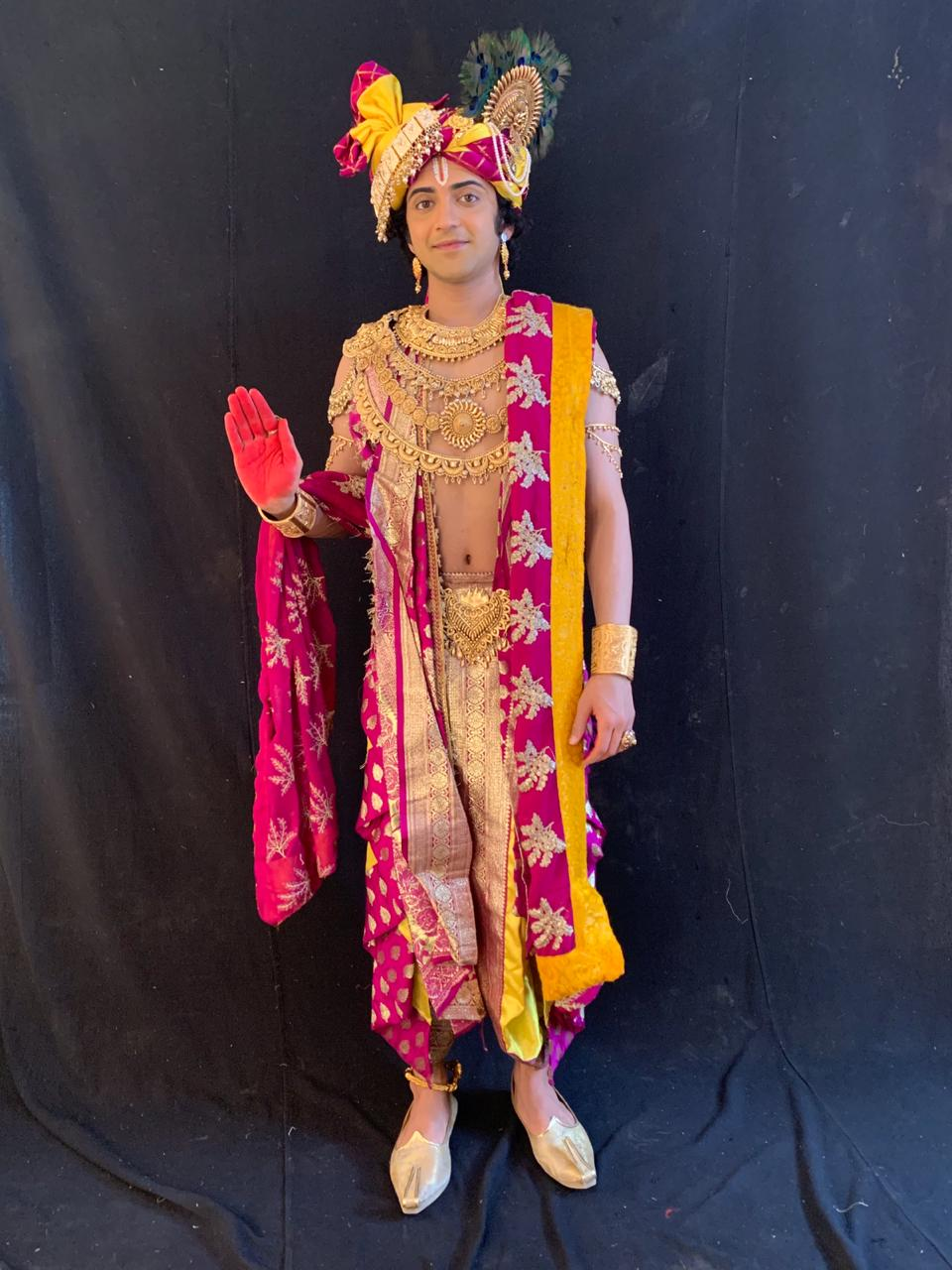 RadhaKrishn – Krishn Arjun Gatha: Sumedh Mudgalkar in new Krishn look is divine 1