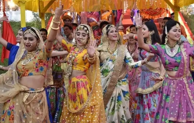 Yeh Rishta Kya Kehlata Hai's Gangaur Festival Celebration Moments 1