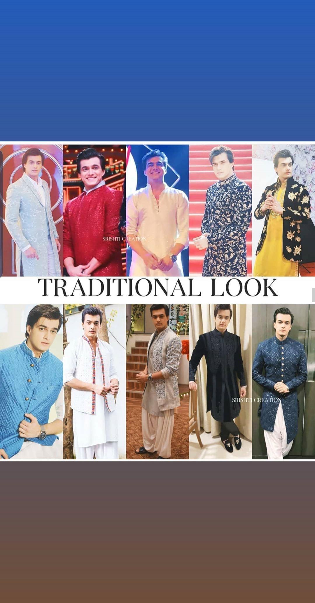 Yeh Rishta Kya Kehlata Hai's Mohsin Khan shares picture in traditional looks, fans go crazy