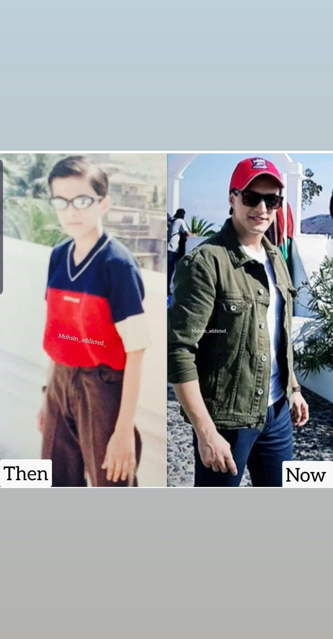 Yeh Rishta Kya Kehlata Hai's Mohsin Khan shares Then and Now picture, fans can't stop loving him