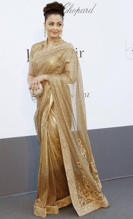 Aishwarya Rai Bachchan Vs Anushka Sharma Vs Deepika Padukone: Who looks the MOST ELEGANT in a designer saree? 1