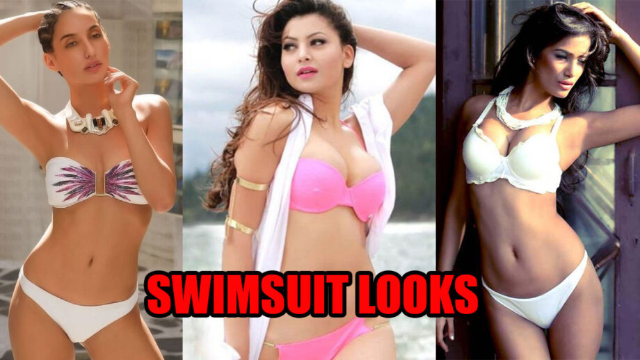 Bold And Beautiful Nora Fatehi Urvashi Rautela And Poonam Pandey In Their Best Swimsuit Looks Iwmbuzz