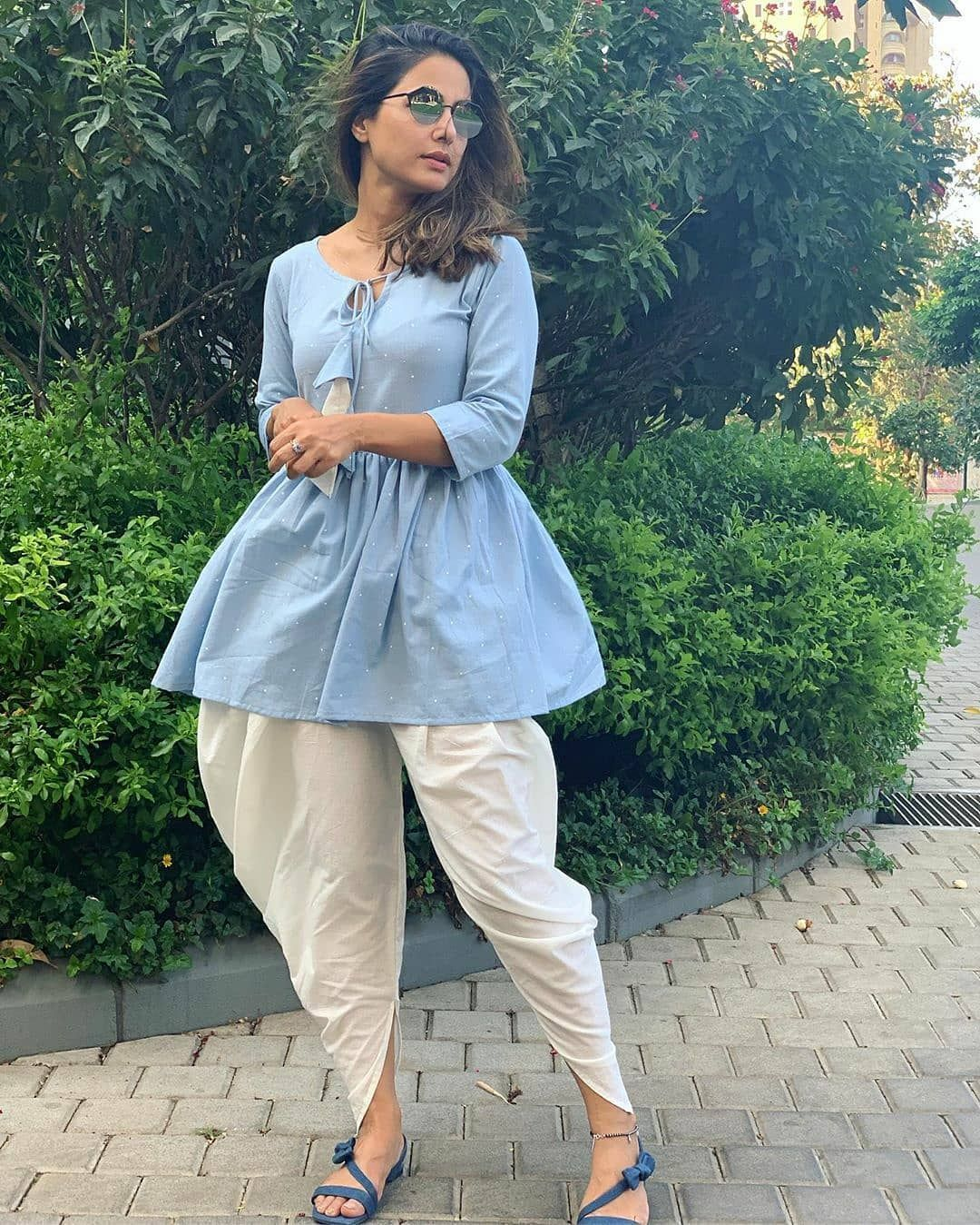 Casual Style: Hina Khan, Erica Fernandes And Niti Taylor's Cute And Comfy Pajamas