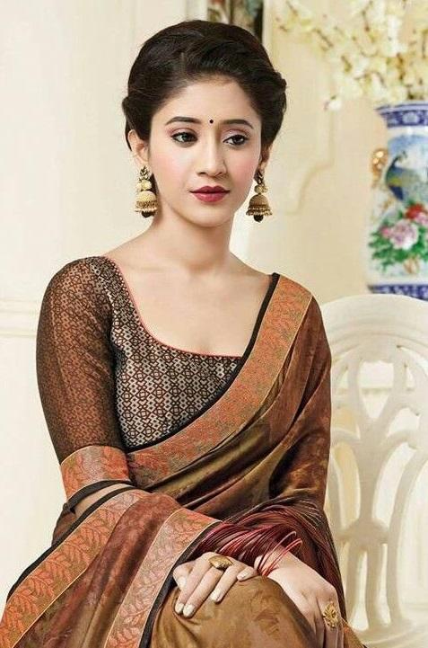 Check Out The Saree Looks Of Shivangi Joshi, Krystle D'Souza And Eisha Singh 2